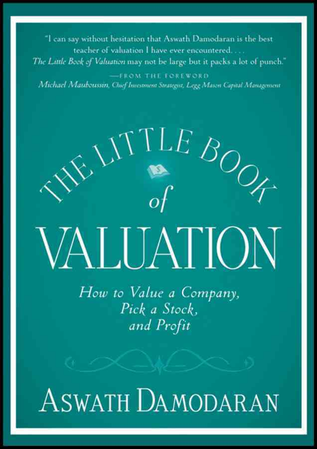 The Little Book of Valuation By Damodaran, Aswath